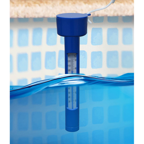 Mainstays Floating Swimming Pool Spa Tub Thermometer Temperature Water Float WLM8 59010