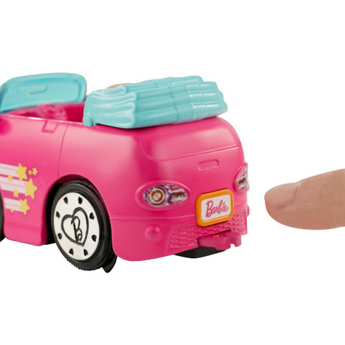 Barbie On The Go Motorized Action Doll And Convertible Car Really