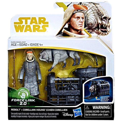 Star Wars Rebolt and Corellian Hound Force Link 2.0 Action Figures Toy Kids Collector WLM8 67734