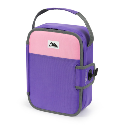 Arctic Zone PURPLE Insulated Lunch Box Bag Container Food Tray Student Schoool WLM8 52044