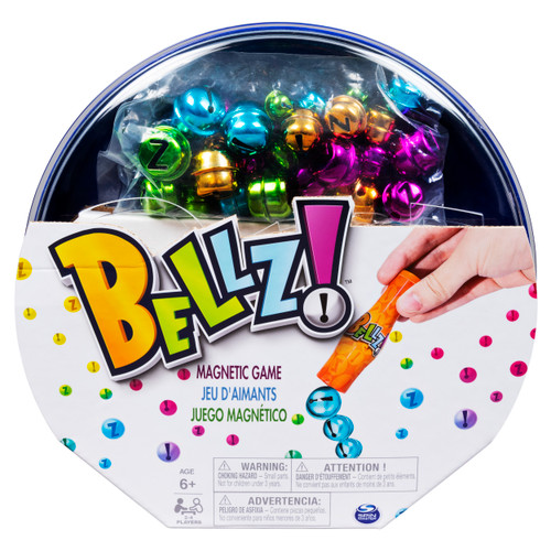 Bellz Family Game with Magnetic Wand and Colorful Bells Kids Friends 2-4 players Toy Travel Gift WLM8 18474