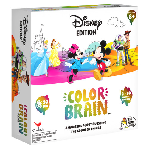 Disney Colorbrain The Ultimate Board Game Quiz Questions & Answer Disney Universe Toy Kids Friends WLM8 25729