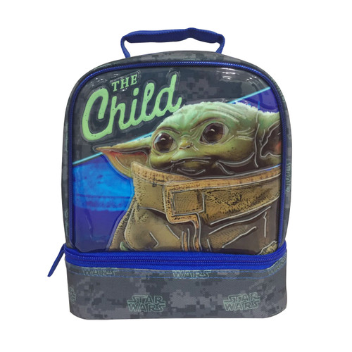 Star Wars Kids Mandalorian The Child Baby Yoda School Lunch Bag Container Food Student Boys - WLM8 (22235)