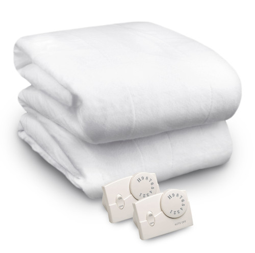 Biddeford KING Size Electric Heated Mattress Pad Cover with Analog Controller Cozy Bed Warming Heating Warm Winter WLM8 15036/16827-CCC