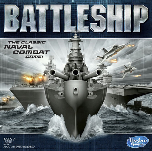 Hasbro Gaming Battleship Naval Combat Game Classic Toy for 2 players Ages 7 + Teen - WLM8 (55637)