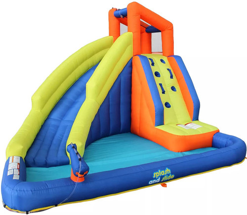 My First Waterslide Splash and Slide Inflatable Water Bounce House Waterpark with Blower SM8 06319/06320