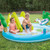 Intex Gator Inflatable Swimming Kids Pool Play Center with Water Sprayer Slide Outdoor Backyard Summer - WLM8 (57164)