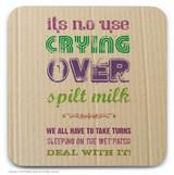 Spilt Milk Coaster