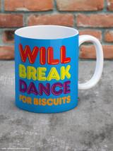 Break Dance For Biscuits Boxed Mug