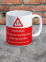 Loves Swearing Boxed Mug