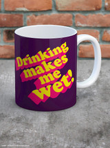 Drinking Makes Me Wet Boxed Mug