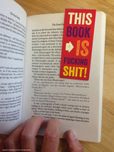 This Book is Shit Book Magnetic Bookmark