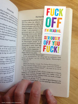 Fuck Off Magnetic Bookmark