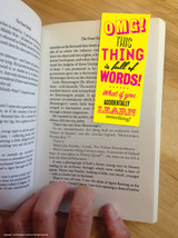 Learn Something Magnetic Bookmark