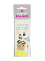 Love Reading Nope Magnetic Bookmark