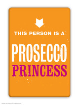 Prosecco Princess Fridge Magnet