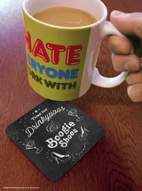 Drinkypoos & Boogie Shoes Coaster