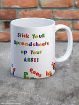 Stick Your Spreadsheets Mug