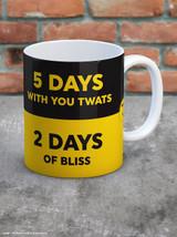 Work vs Life Boxed Mug