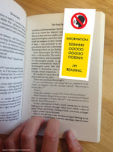 Shoosh I'm Reading Magnetic Bookmark