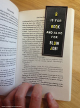 B Is For Blowjob Magnetic Bookmark