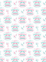 Drinkypoos & Boogie Shoes Gift Wrap