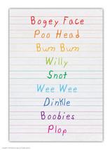 Bogeyface A6 Notebook