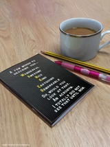 Wanker Acronym A6 Notebook