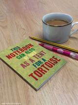 Tortoise Tent A6 Notebook
