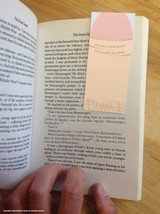 Flat Cock Magnetic Bookmark