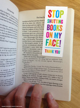 Shut On My Face! Magnetic Bookmark