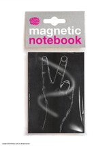 Two Fingers Magnetic Notebook