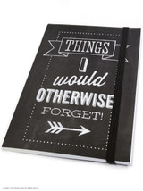 Things I Would Otherwise Forget A6 Notebook