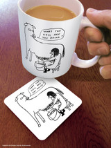 David Shrigley What The Hell Coaster