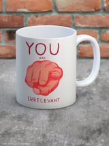 David Shrigley You Are Irrelevant Boxed Mug