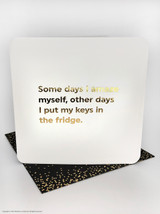 Amaze Myself (Gold Foiled) Birthday Card