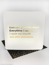 Wash Mouth Out (Gold Foiled) Birthday Card