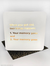 Get Old (Gold Foiled) Birthday Card