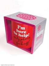 I'm Here To Help Boxed Mug & Coaster Gift Set