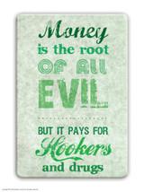 Money The Root Of All Evil Fridge Magnet
