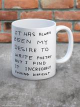 David Shrigley Write Poetry Boxed Mug