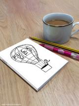 David Shrigley Fuck Off Balloon A6 Notebook / Notepad