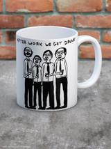 David Shrigley After Work We Get Drunk Boxed Mug