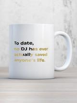 No DJ Boxed Mug