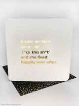 Wise Woman (Gold Foiled) Birthday Card