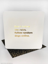 Rules (Gold Foiled) Birthday Card