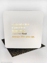 Friend Is Like (Gold Foiled) Birthday Card