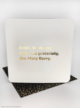 Be Merry (Gold Foiled) Birthday Card