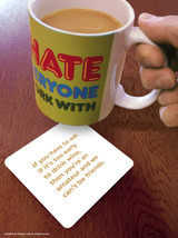 Too Early To Drink Wine Coaster