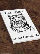 David Shrigley I Eat People A5 Notebook